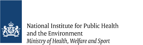 National Institute for Public Health and the Environment - Ministry of health, Welfare and sport